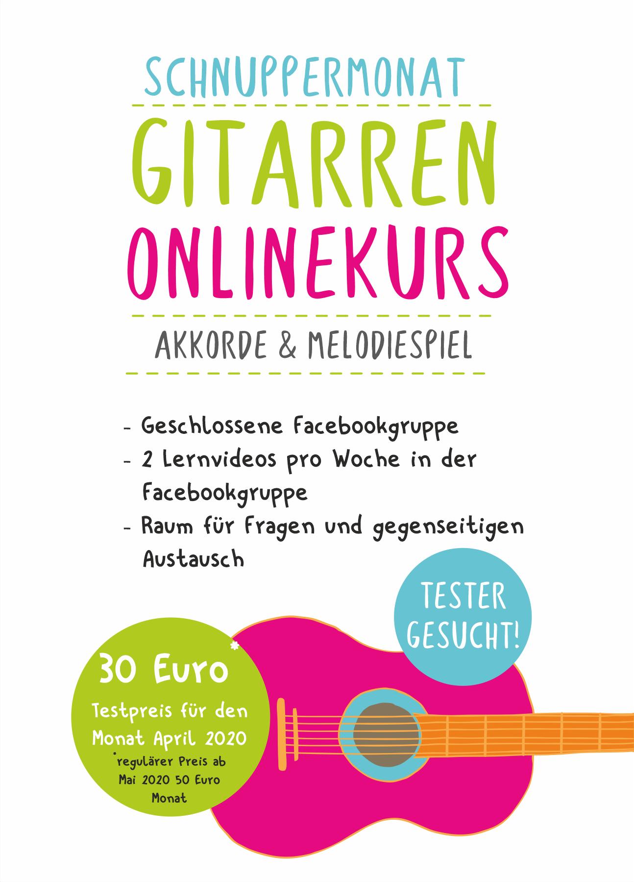 Gitarren-Onlinekurs