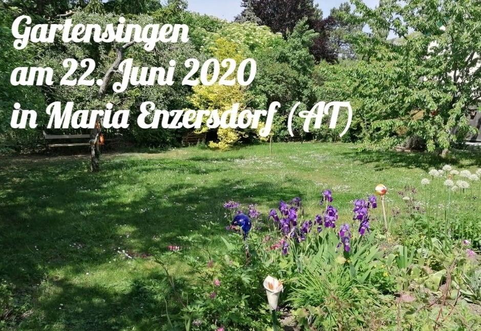 Gartensingen am 22. Juni 2020