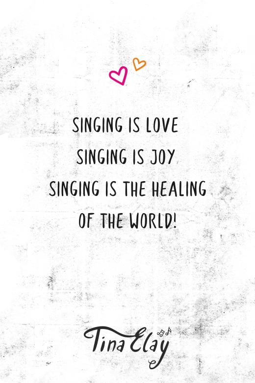 Singing is love