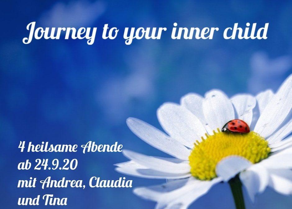 Journey to your inner child – 4 heilsame Abende für dein inneres Kind