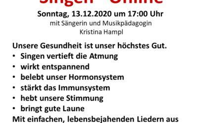 "Gesundheitsförderndes Singen ""Gesundes Brunn"" via Zoom"