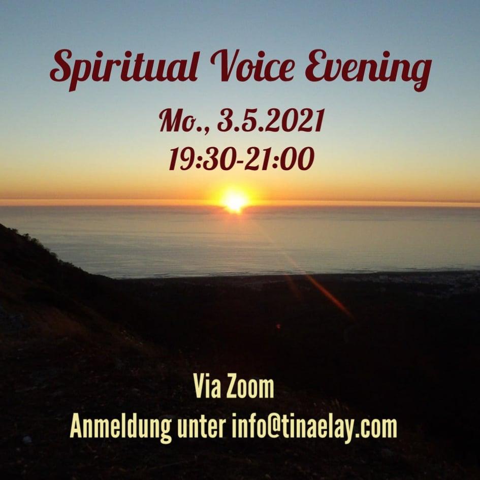 Spiritual Voice Evening